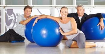 Übungen mit dem Gymnastikball