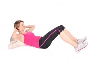 crunches bauchmuskeltraining