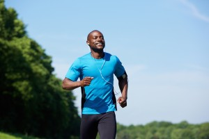 mann joggen