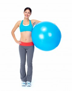 gymnastikball workout